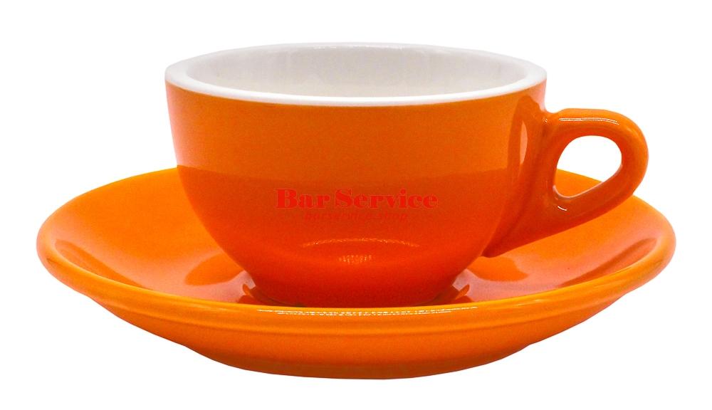 Чайная пара 180 мл оранжевый цвет Barista P.L. в Красноярске