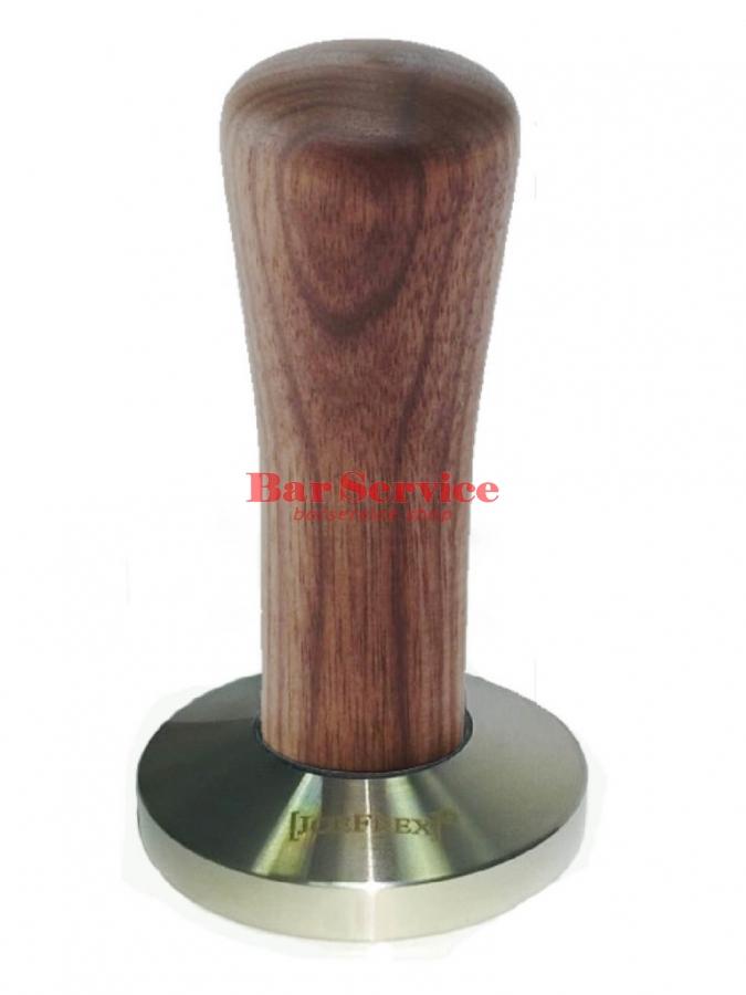 Темпер JoeFrex D58 Classic Short, орех, плоский сталь в Красноярске