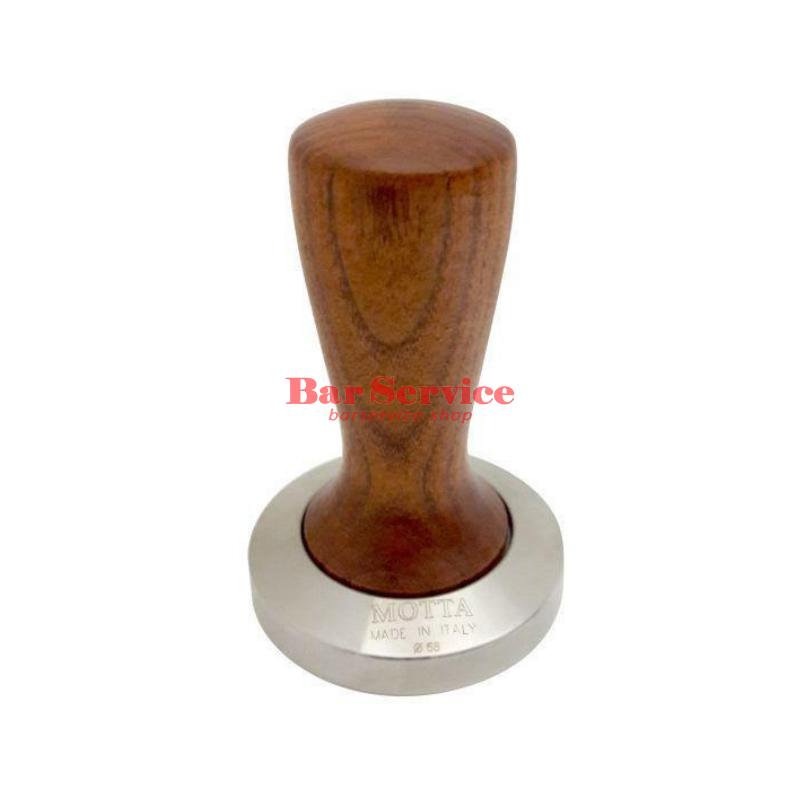 Темпер Мотта SLIM 58 мм. (плоский) рукоятка из дерева в Красноярске