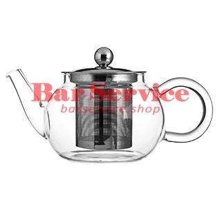 Чайник «Проотель»;  термост.стекло;  0,6л;  D=78мм в Красноярске