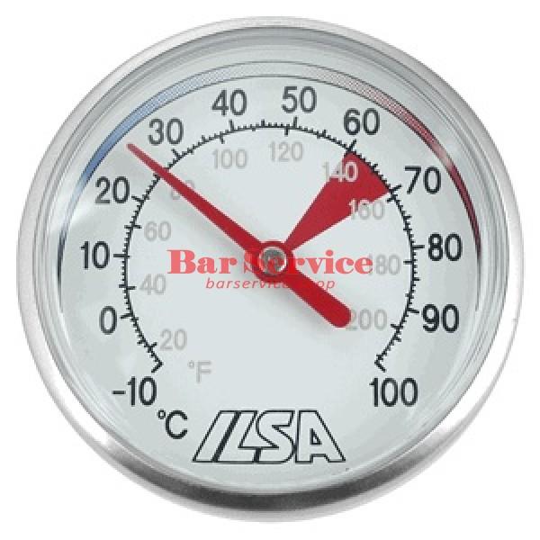 Термометр д/молока; сталь; D=45,L=138/125,B=55мм; металлич. в Красноярске