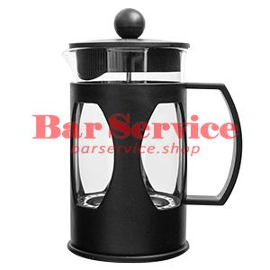 Чайник-кофейник Черный Объем: 600 мл. (френч пресс) в Красноярске