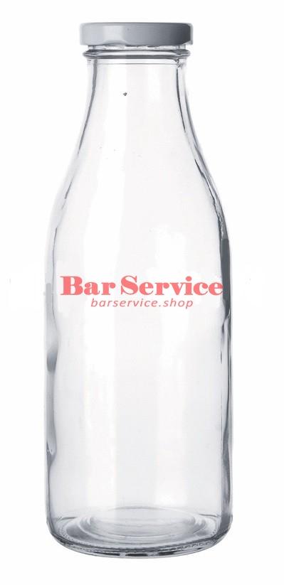 Бутылка с крышкой для молока, соков 500мл в Красноярске