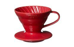 Hario VDC-02R. Воронка керамическая красная. 1-4 чашки в Красноярске right