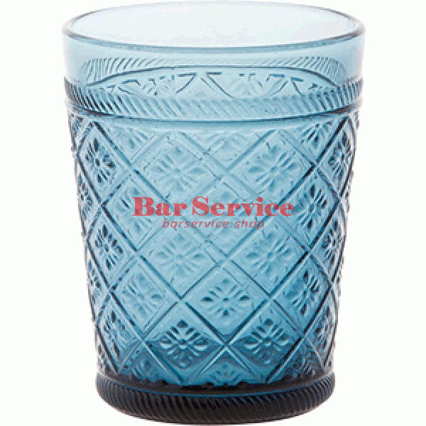 Стакан Глория; стекло; 350мл; синий в Красноярске