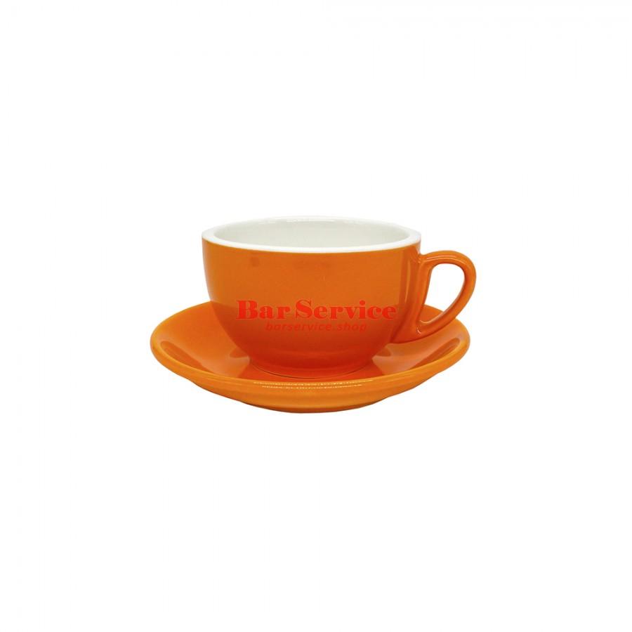 Чайная пара 270 мл; оранжевый цвет; Barista P.L. в Красноярске